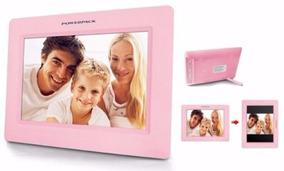 Porta Retrato Digital Powerpack Tela 7