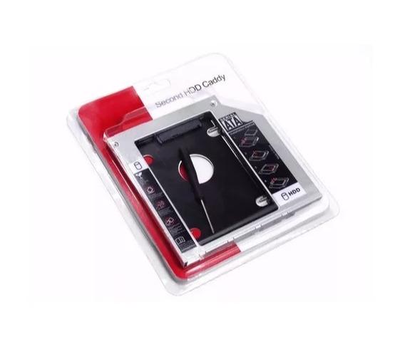 Adaptador Dvd Para Hd Ssd Notebook Pc Drive Caddy 12.7mm Nf