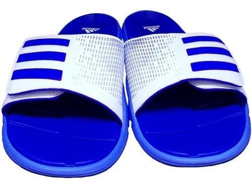 Chinelo adidas Original 6 Pares - Azul E Branco