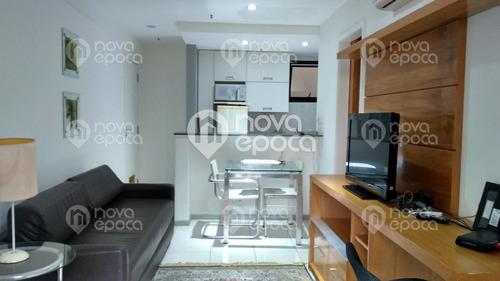 Imagem 1 de 21 de Flat/aparthotel - Ref: Fl1ah1656