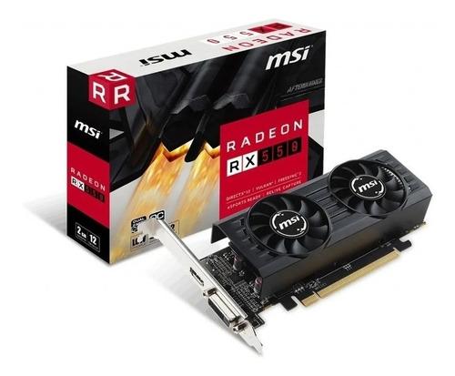 Placa De Video Msi Radeon 550 2gb Oc En Palermo