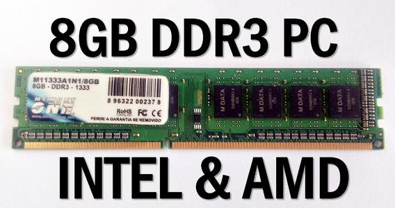 Memória Pc Gamer 8 Gb Ddr3 1333 Mhz Gta 5 Csgo