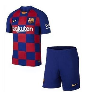 Novo Uniforme Do Barça 2019 Original Infantil Garanta Já