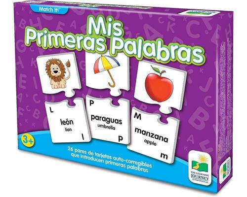 Juego Educativo Learning: Abc Mis Primeras Palabras