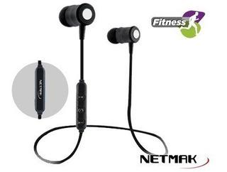 Auricular Deportivo Bluetooth Nm-t535 Fitness Netmak