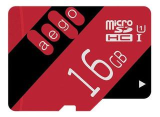 Aego 16gb Micro Sd Card U1 Real Capacity Sdhc Memory Card Fo