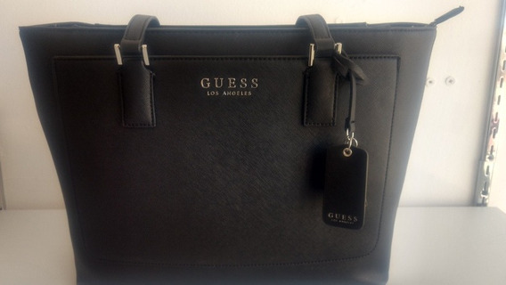 Bolsa Guess Negra Original Los Angeles California