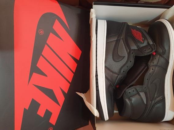 Air Jordan 1 High Og Black Satin