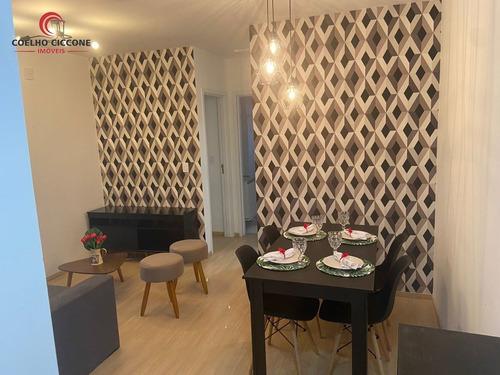 Imagem 1 de 15 de Apartamento Mobiliado Para Locacao - L-4579