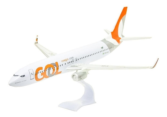 Maquete Boeing 737-800 Gol (new Libery) 38cm