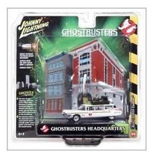 Johnny Lighting Ghostbusters Ecto 1 Diorama