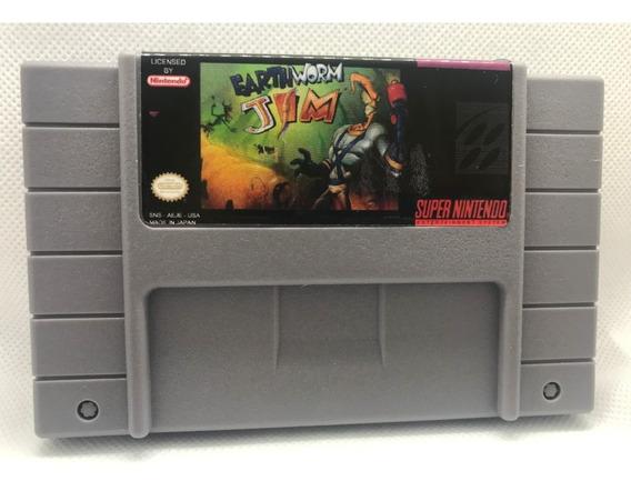Earthworm Jim Super Nintendo