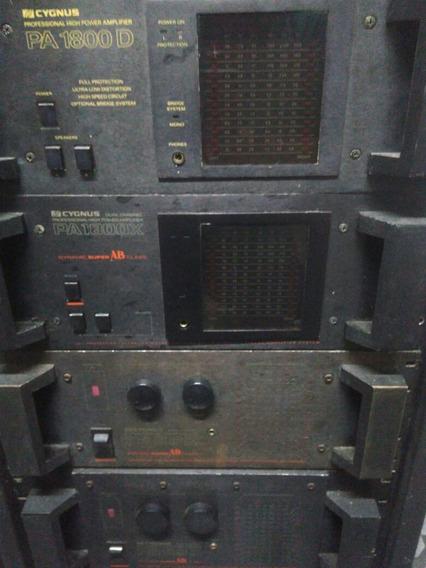 Cygnus - Amplificadores , Crossover , Equalizadores Cygnus