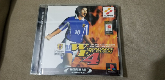 Winning Eleven 4 Original Japonês Sony Ps1.