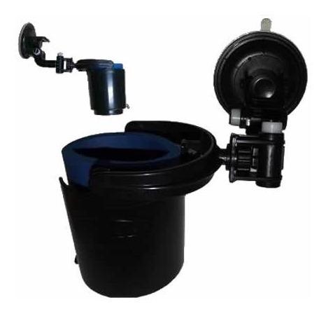 2 Porta Vasos Tipo Ram Para Vehículo Universales Parabrisas