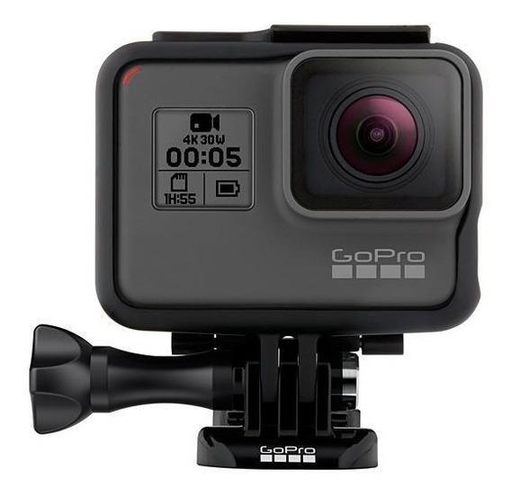Câmera De Ação Gopro Hero 5 Black Adventure 12mp 4k C/ Voz