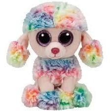 Peluches Ty Rainbow Beanie Boos Plush 13cm Perro Original
