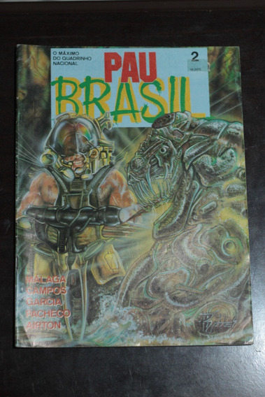 Hq Pau Brasil Nº2 Editora Vidente Gibi Antigo Raro Otimo