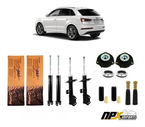 04 Amortecedor + Kit Batentes Coifa Audi Q3 Tfsi