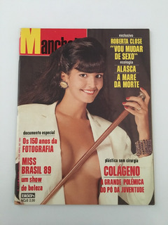 Revista Manchete Roberta Close - 15 Abril 1989 Nº 1930