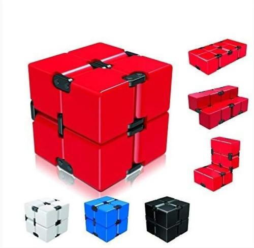 Cubo Infinito Fidget Mágico Relajante Rubik Anti Estrés 2x2
