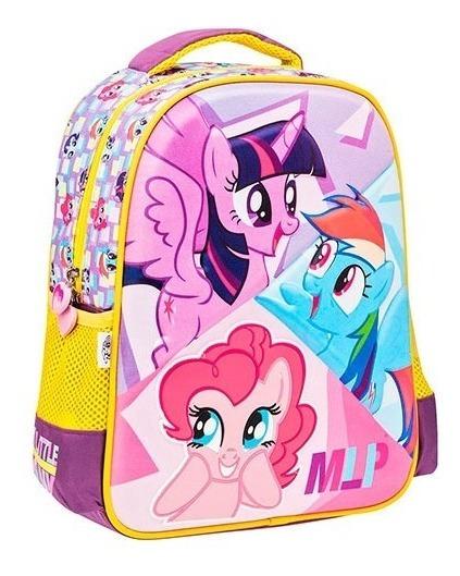 Mochila Niña Personaje My Little Pony 88179 Envio Gratis