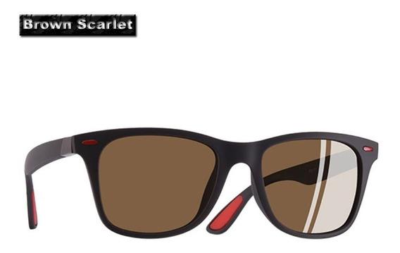 Óculos De Sol Polarizado Quadrado Aofly Scarlet-rumped Uv400