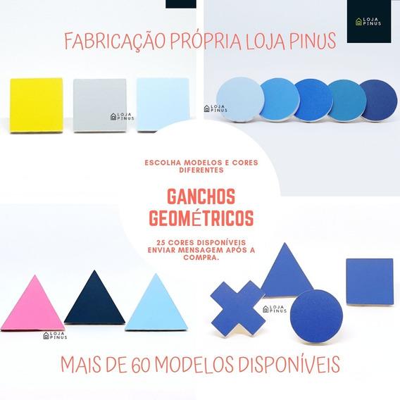 Kit 2 Lindos Ganchos De Parede - 60 Modelos Disponíveis