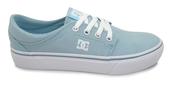 Tenis Dc Shoes Trase Tx Womens Adjs300078 Ltb Light Blue Az