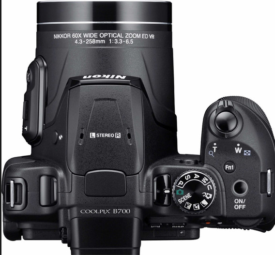 Câmera Nikon Coolpix B700 4k