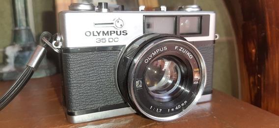 Câmera De Filme Olympus 35 Dc