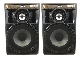 Caixa De Som Original Toshiba Ss8080 - 250w 4 Ohms (par)