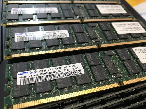 Memoria Ecc Reg 4gb Pc2-5300p Ibm Fru 41y2851 Opt 41y2768