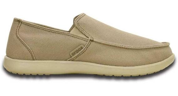 Mocasín Crocs Santa Cruz Men Clean Cut Zapato Náutico Hombre