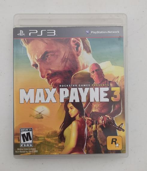 Jogo Max Payne 3 - Legendas Português - Ps3 - Original