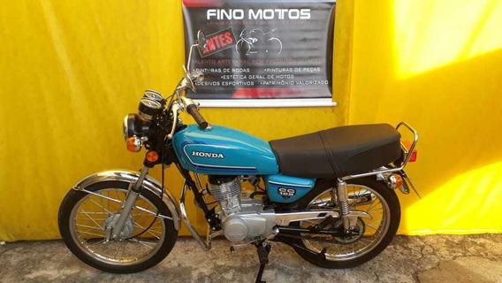 Cg 125 Bolinha 1981 Restaurada