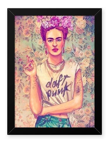 Quadro Frida Punk 23x33cm