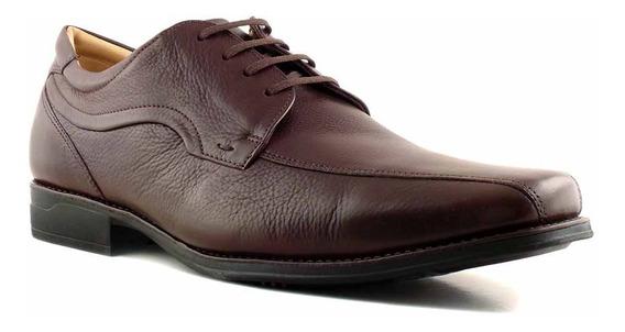 Zapato Goma Confort Hombre Negro Anatomico Ancho - Hcac00896