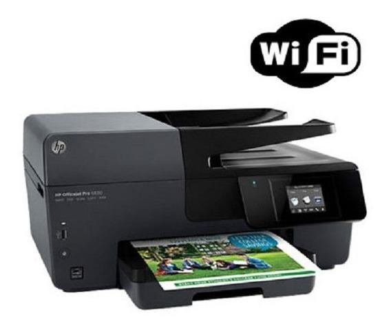 Impressora Multifuncional Hp Officejet Pro 6830 + Fax + Wifi