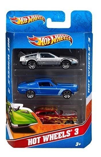 Hot Wheels Paquete Surtido De 3 Autos