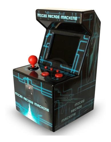 Consola Retro Arcade Microfichines Kanji 200 Juegos 8-bit