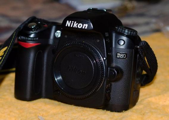 Cámara De Fotos Nikon D80 Body Solamente