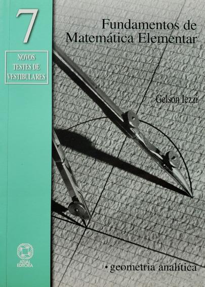 Fundamentos De Matemática Elementar Vol. 7 Novo 5ª Edição