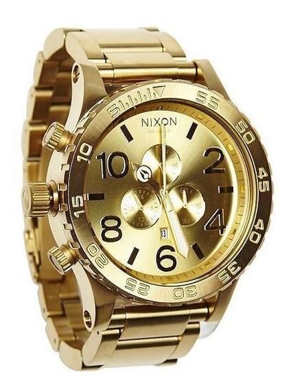 Relógio Nixon 51 30 Chrono All Gold A083502