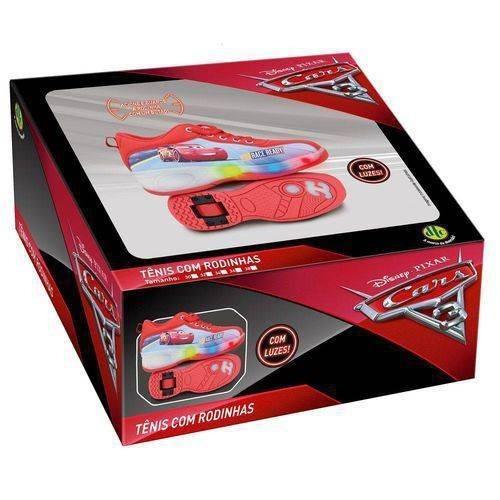 Tênis Com Rodinhas Carros Cars Disney Pixar Tamanho 32