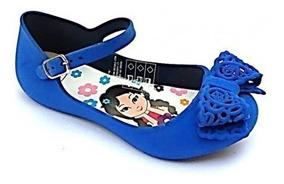 Sandália Infantil Charmosinha Baby Pink Ou Blue