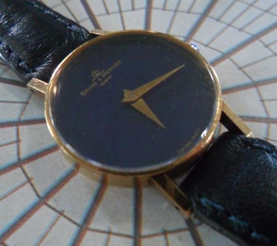 Relogio Baume & Mercier Ouro 18k - Tradicional Vintage !!!!!