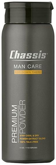 Chasis Superior Del Cuerpo Polvo Para Hombres, Aroma Fresco