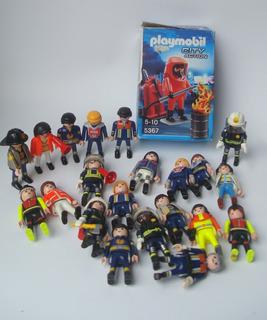 Playmobil Figura Bomberos Rescate City Action Original Perco