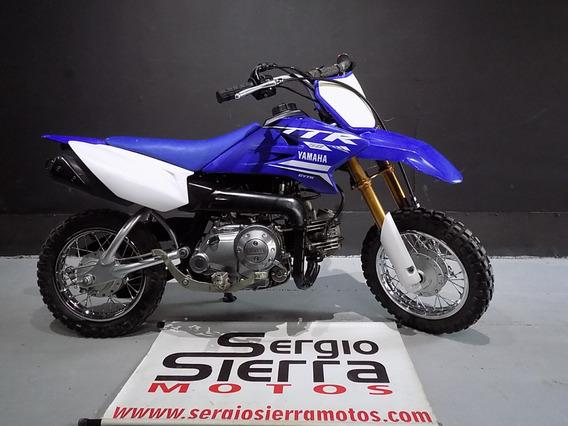 Yamaha Ttr50 Azul 2017